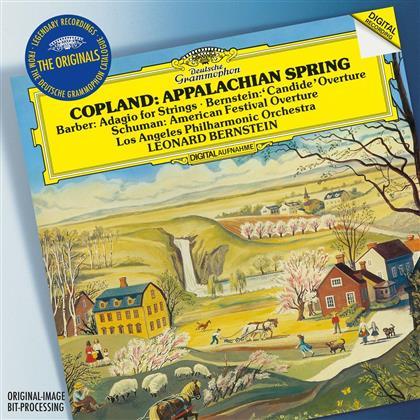 Leonard Bernstein (1918-1990), Aaron Copland (1900-1990), Samuel Barber (1910-1981) & Leonard Bernstein (1918-1990) - Appalachian Spring