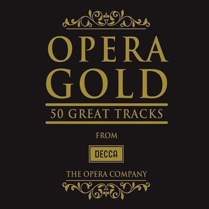 Luciano Pavarotti, Jonas Kaufmann & Cecilia Bartoli - Opera Gold - 50 Great Tracks (3 CDs)