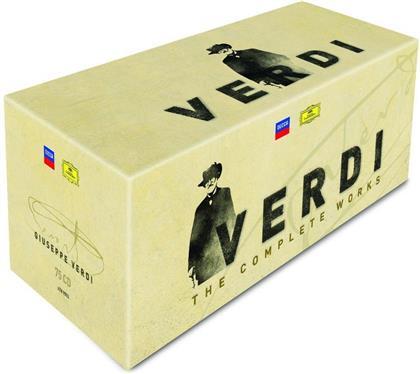 Giuseppe Verdi (1813-1901) - The Complete Works (75 CDs)