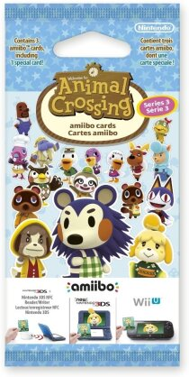 Animal Crossing Amiibo Karten (Vol. 3) 3 Stk.