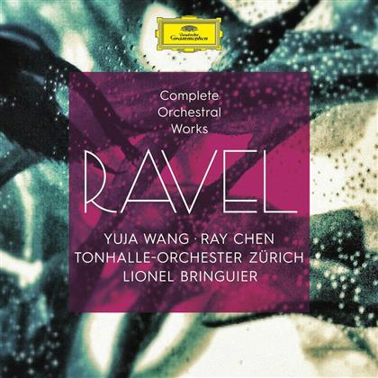 Ray Chen, Maurice Ravel (1875-1937), Lionel Bringuier, Yuja Wang & Tonhalle Orchester Zürich - Complete Orchestra (4 CDs)