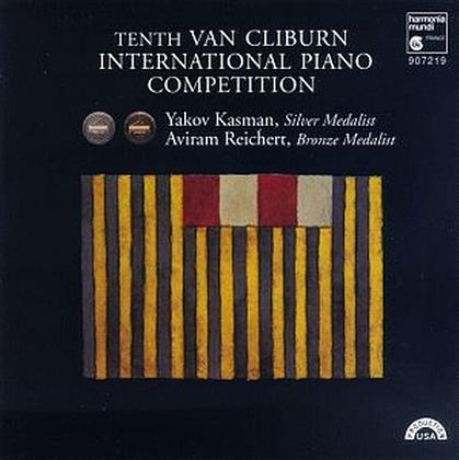 Aviram Reichert, Sergej Rachmaninoff (1873-1943), Robert Schumann (1810-1856) & Yakov Kasman - Tenth Van Cliburn Piano Competition