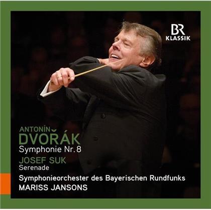 Antonin Dvorák (1841-1904), Josef Suk (1874-1935), Mariss Jansons & Bayrisches Radiosinfonieorchester - Symphonie 8 / Serenade