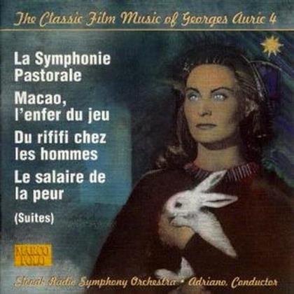 Georges Auric - La Symphonie Pastorale - Macao, L'Enfer Du Jeu - Du Rififi Chez Les Hommes - Le Salaire De La Peur (Suites) - The Classic Film Music of Georges Auric 4