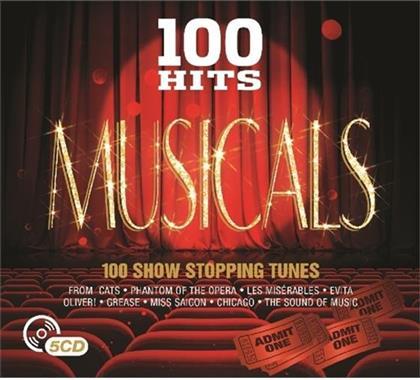 100 Hits Musicals - OST (5 CDs)