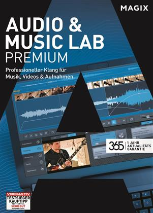 MAGIX Audio & Music Lab Premium (Aktualitätsgarantie)