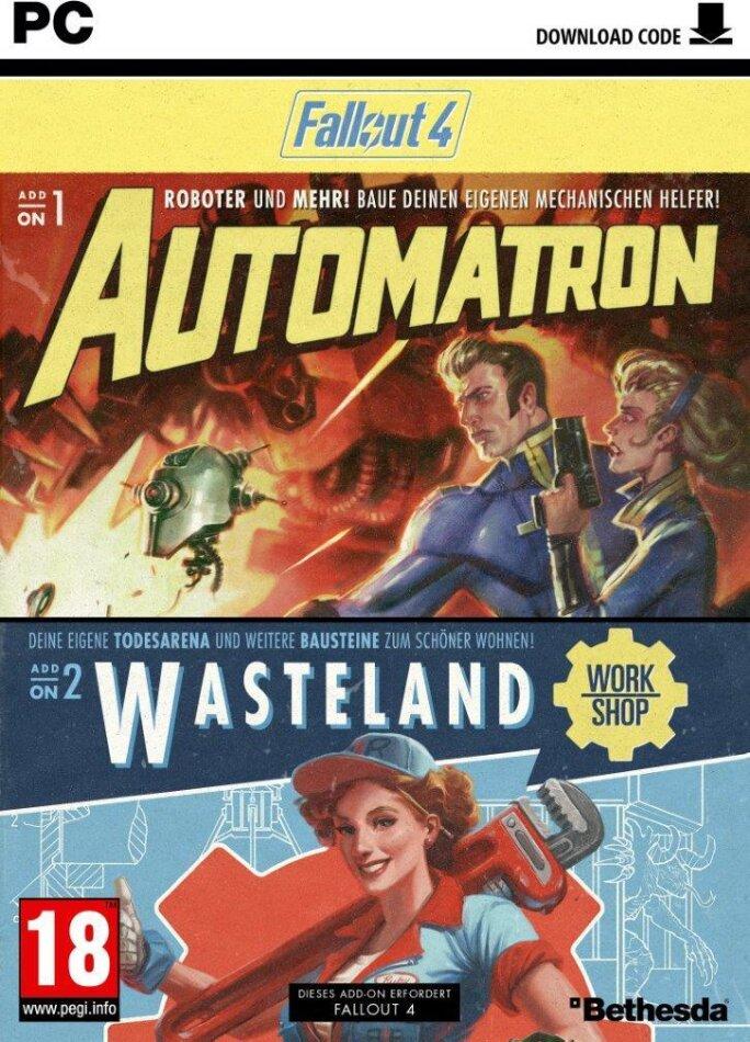 Fallout 4 - Addon 1+2 (Code in a Box)