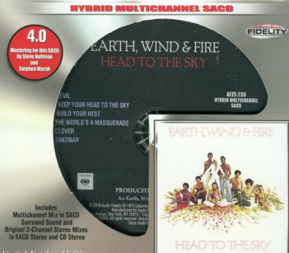 Earth, Wind & Fire - Head To The Sky (Limited Edition, SACD)