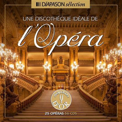 Montserrat Caballé, Placido Domingo, Nicolai Gedda & Marilyn Horne - Une Discothèque Idéale De L'opéra (56 CDs)