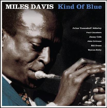 Miles Davis - Kind Of Blue - Not Now Records, Blue Vinyl (Colored, LP)