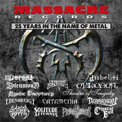 25 Years In Metal - Various - Massacre Records (2 CDs)