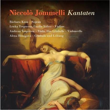 Niccolò Jommelli (1714-1774), Alena Hönigova, Barbara Kusa, Cecilie Valter, Lenka Torgersen, … - Kantaten