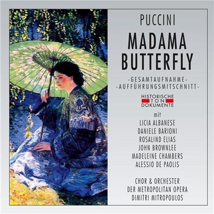 Giacomo Puccini (1858-1924), Dimitri Mitropoulos, Licia Albanese, Rosalind Elias, Daniele Barioni, … - Madama Butterfly - 15.12.1956 New York, Metropolitan Opera (2 CDs)