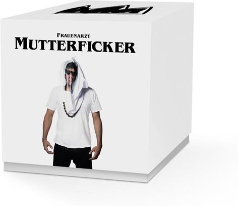 Frauenarzt - Mutterficker - Limited Deluxe Box inkl. T-Shirt Large, Stickers & Konzerbecher (3 CDs)