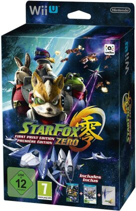 Star Fox Zero First Print Edition incl. Star Fox Guard
