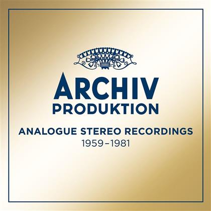 Divers - Analogue Stereo Recordings 1959 - 1981 (50 CDs)