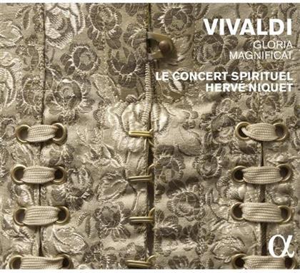 Antonio Vivaldi (1678-1741), Herve Niquet & Le Concert Spirituel - Gloria - Magnificat
