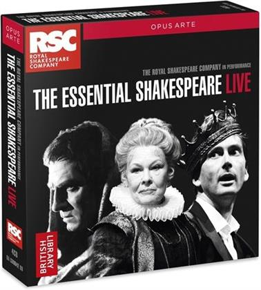Royal Shakespeare Company & William Shakespeare - Essential Shakespeare Live (4 CDs)