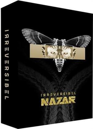 Nazar - Irreversibel - Limited Fanbox incl. T-Shirt, Stickers & Flagge (3 CDs + DVD)