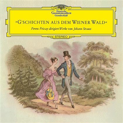 Johann Strauss & Ferenc Fricsay - G'schichten Aus Dem Wiener Wald (LP)