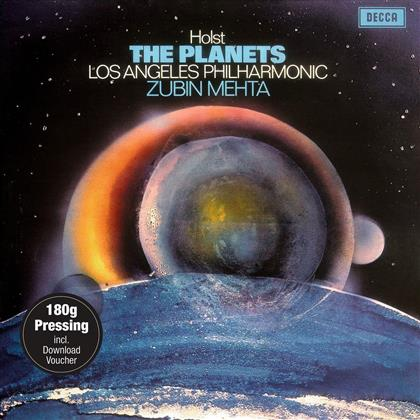 Gustav Holst (1874-1934) & Zubin Mehta - The Planets (LP + Digital Copy)