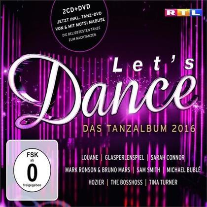 Let's Dance - Das Tanzalbum - Various 2016 (2 CDs + DVD)