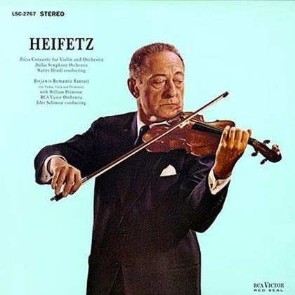 Jascha Heifetz, Miklós Rózsa (1907-1995) & Arthur Benjamin (1893-1960) - Violinkonzerte (LP)