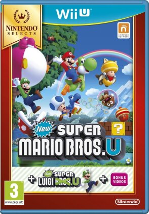 Nintendo Selects: New Super Mario Bros. U & New Super Luigi