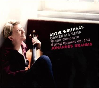Antje Weithaas & Johannes Brahms (1833-1897) - Violin Concerto /String Quartet