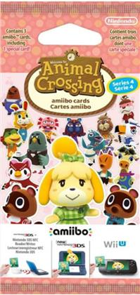 Animal Crossing amiibo cards - Series 4