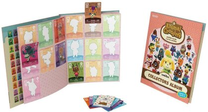 Animal Crossing amiibo Collectors Album 4 incl. 3 Cards