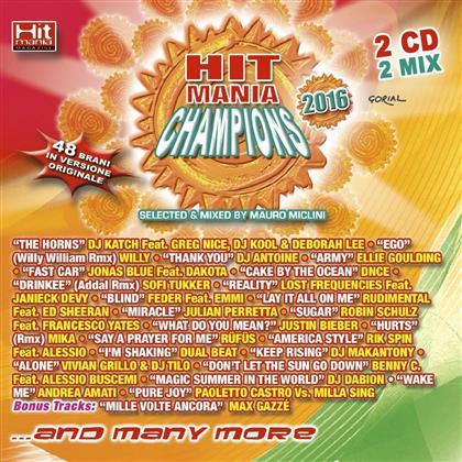 Hit Mania Champions 2016 (2 CDs)
