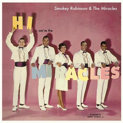 Smokey Robinson - Hi We're The Miracles - Vinyl Lovers (LP)