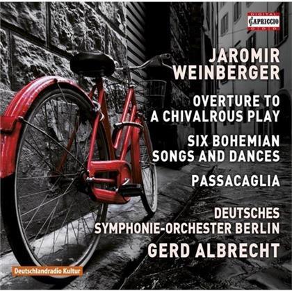 Gerd Albrecht, Jaromir Weinberger (1896-1967) & Deutsches Sinfonie-Orchester Berlin - Overture / Bohemian Songs & Dances / Passacaglia