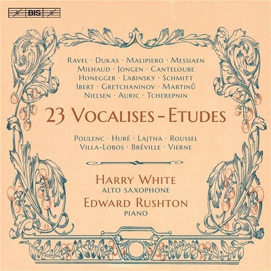 White Harry & Rushton - 23 Vocalises-Etudes