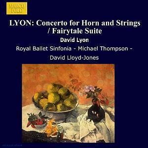 Lyon, David Lloyd-Jones, Michael Thompson & Royal Ballet Sinfonia - Orchestral Works