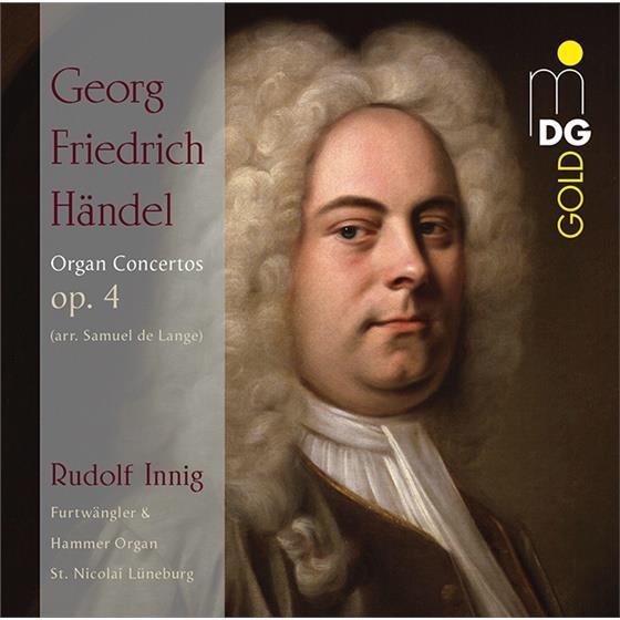 Georg Friedrich Händel (1685-1759) & Rudolf Innig - Organ Concertos (2 CDs)