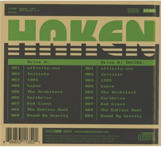 Haken - Affinity - US Digipack Edition (2 CDs)