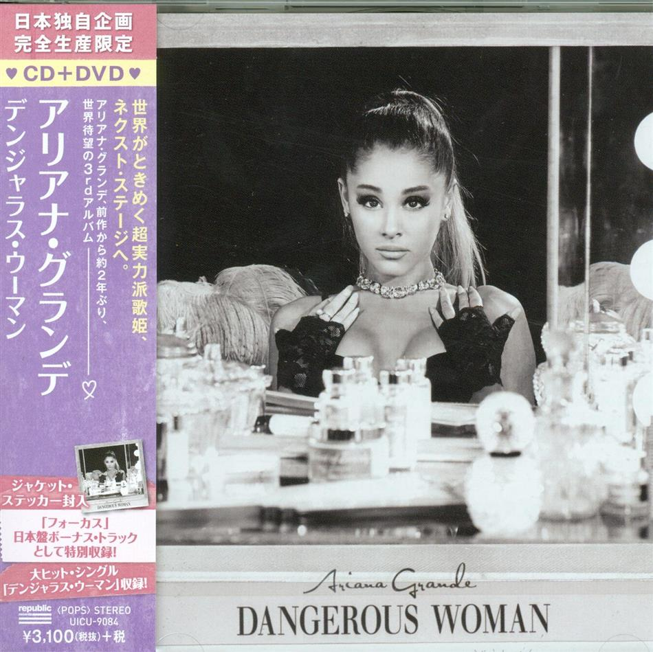 Ariana Grande - Dangerous Woman - Deluxe Edition(+DVD)(Ltd.) (Limited Deluxe Edition, CD + DVD)