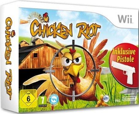 Chicken Riot + 2 Pistolen Bundle