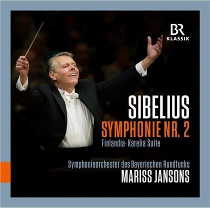 Mariss Jansons & Jean Sibelius (1865-1957) - Symphonie 2 / Finlandia / Karelia