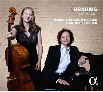 Martin Helmchen, Johannes Brahms (1833-1897) & Marie-Elisabeth Hecker - Cello Sonatas