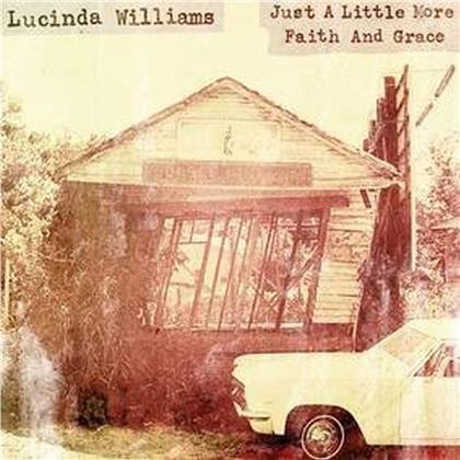 """Lucinda Williams - Just A Little More Faith And Grace (12"""" Maxi)"""