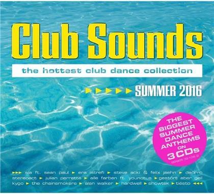 Club Sounds - Summer - Various 2016 (3 CDs)