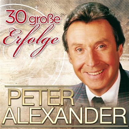 Peter Alexander - 30 Große Erfolge (Jubiläumsedition, 2 CDs)