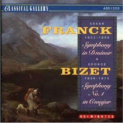 César Franck (1822-1890) & Georges Bizet (1838-1875) - Symphonies