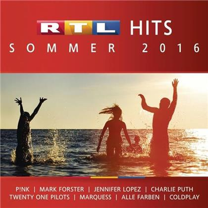 RTL Hits Sommer - Various 2016 (2 CDs)