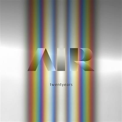 Air - Twentyears - Boxset (2 LPs + 3 CDs)