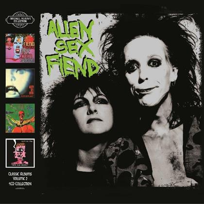 Alien Sex Fiend - Classic Albums Vol.2 (4 CDs)