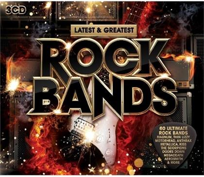 Rock Bands - Latest & Greatest (3 CDs)